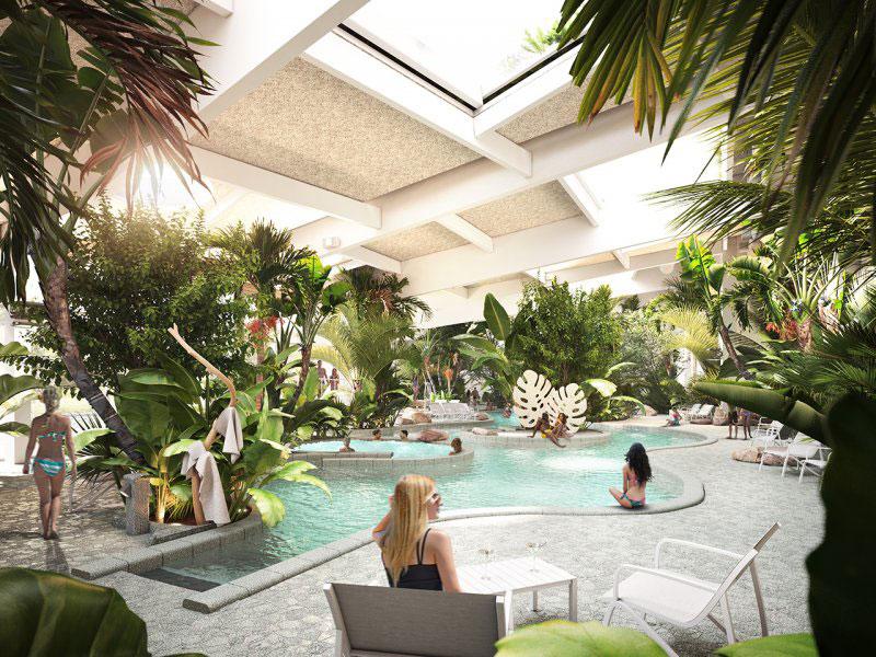 Zwembad Center Parcs Terhill
