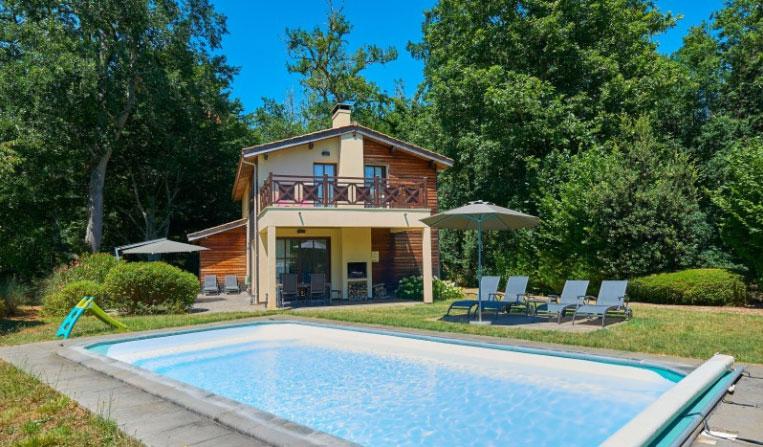 Château de Salles vakantiepark prive zwembad