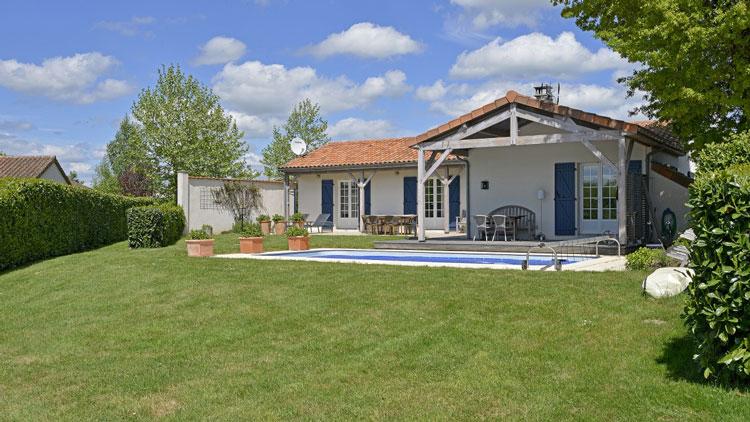 5x luxe vakantiehuis met privé zwembad in Frankrijk